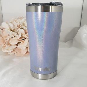 New Tervis Shimmer Violet Stainless Steel Tumbler
